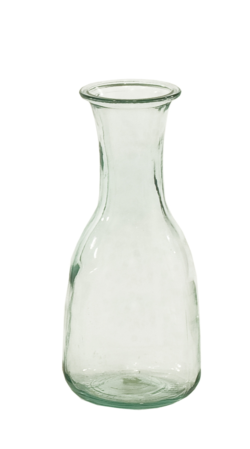 Glass Carafe, 4.5wx10h