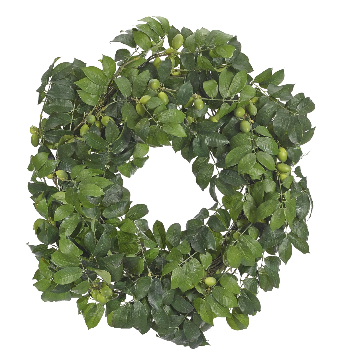 Olive Wreath, Green, 24""