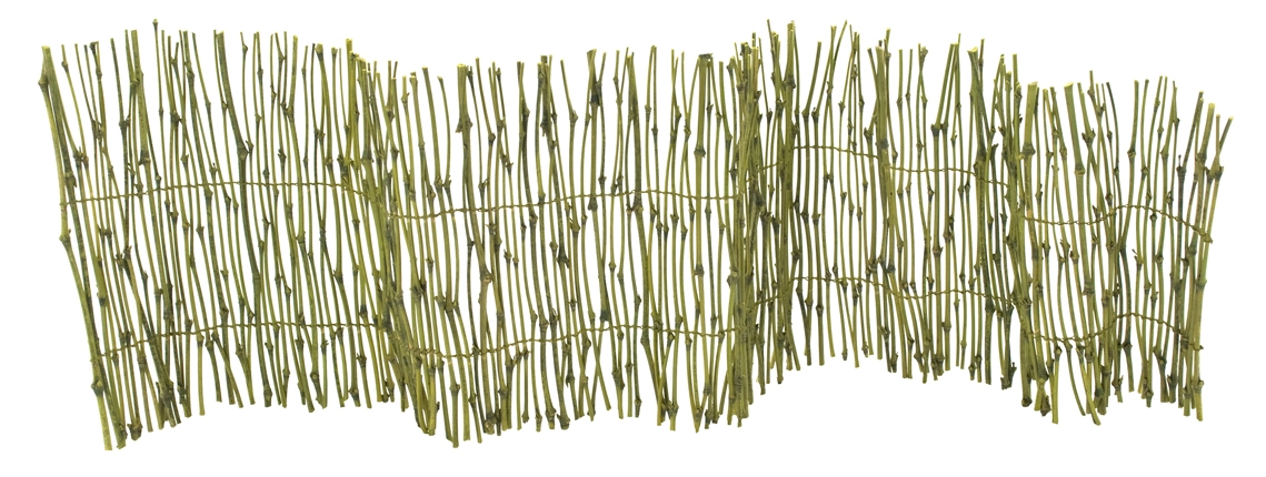 Tropical Bamboo Fence  | BOX OF 6