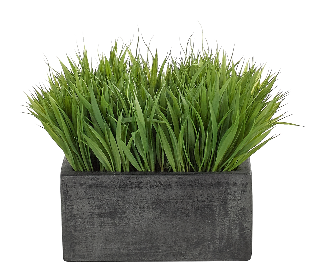 Grass, Green, Square Planter Espresso, 13wx13dx11h