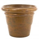 C | Tuscano Planter Antique Rust