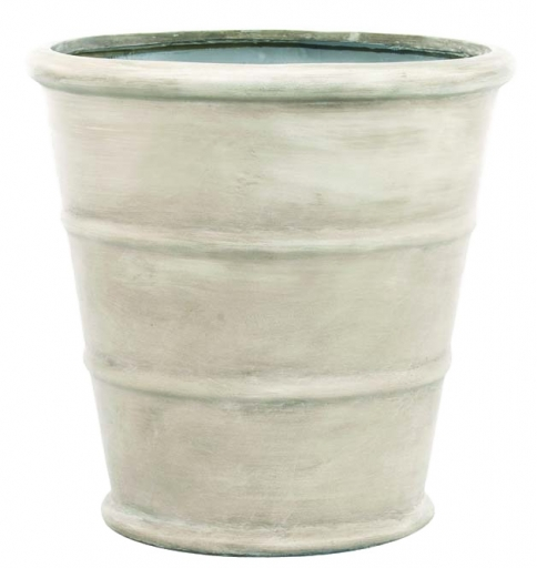 D | Ribbed Pottery Light Grey